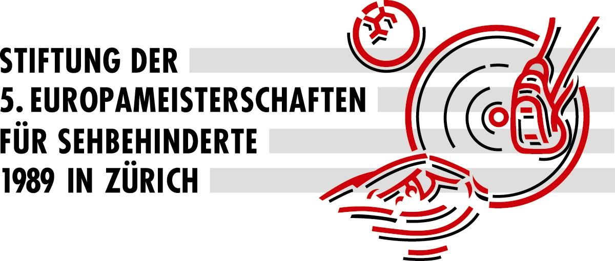 Stiftung der 5. Europameisterschaften für Sehbehinderte 1989 in Zürich